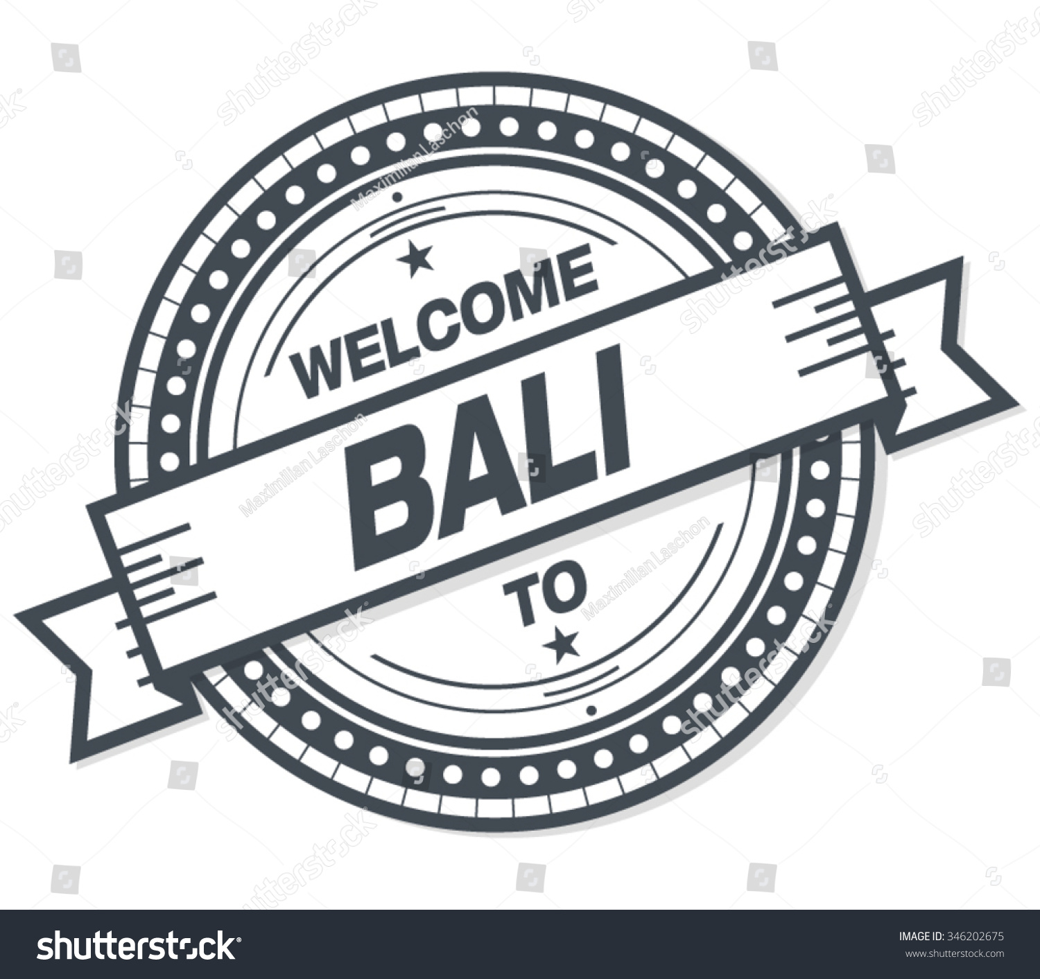 Welcome bali badge stamp stock vector royalty free 346202675 welcome to bali badge stamp altavistaventures Gallery