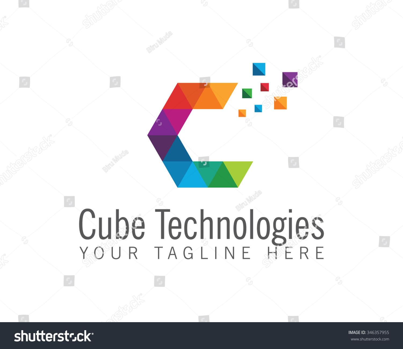 business corporate letter c logo design stock vektor 346357955 shutterstock. Black Bedroom Furniture Sets. Home Design Ideas
