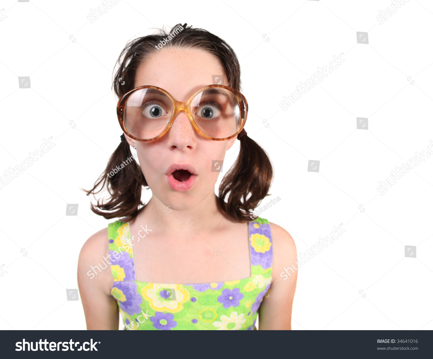 Nerdy Girl Stock Photos, Royalty-Free Images & Vectors - Shutterstock