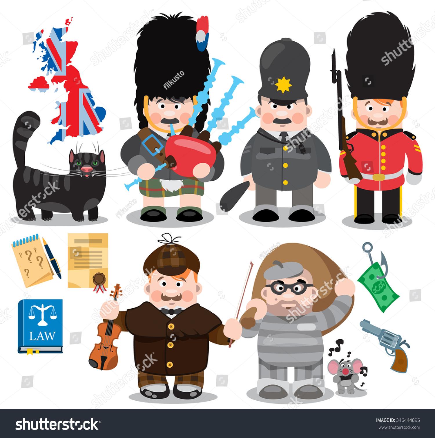Musician Policeman Royal Guard Sherlock Holmes Stock ...