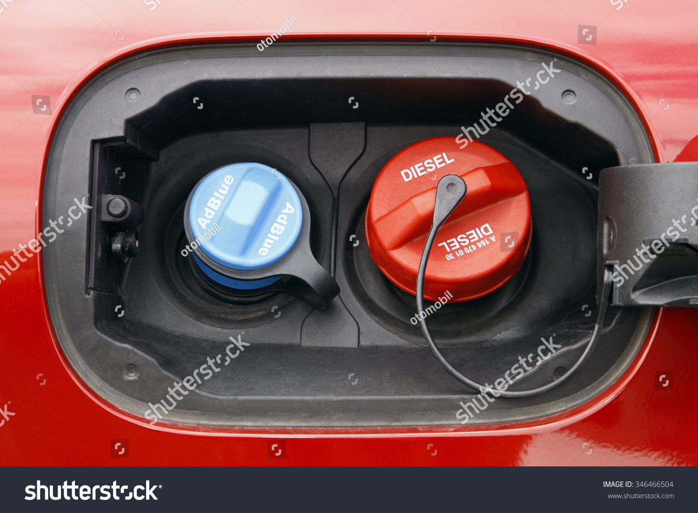 adblue diesel exhaust fluid fuel tank stock photo 346466504 shutterstock. Black Bedroom Furniture Sets. Home Design Ideas