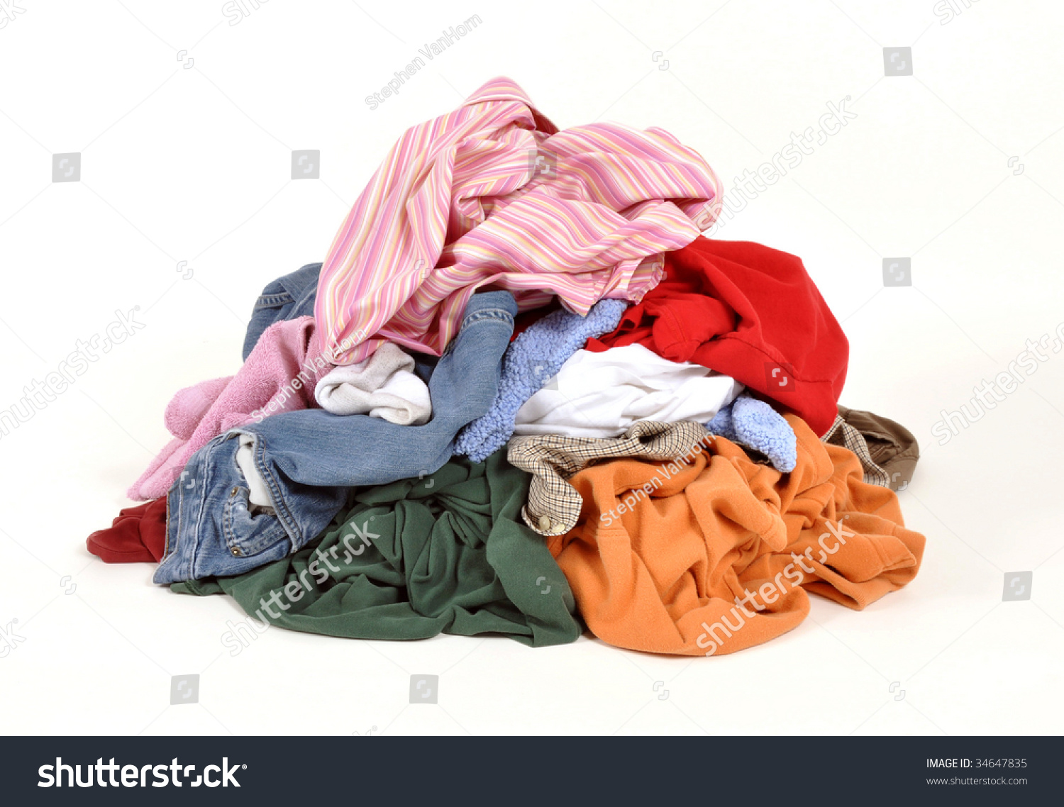 Dirty laundry clothing store
