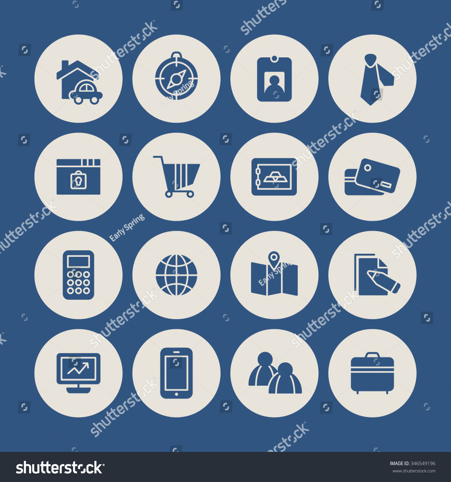 Set vector icon graphic business finance stock vector 346549196 a set of vector icon graphic for business finance office company stock magicingreecefo Gallery