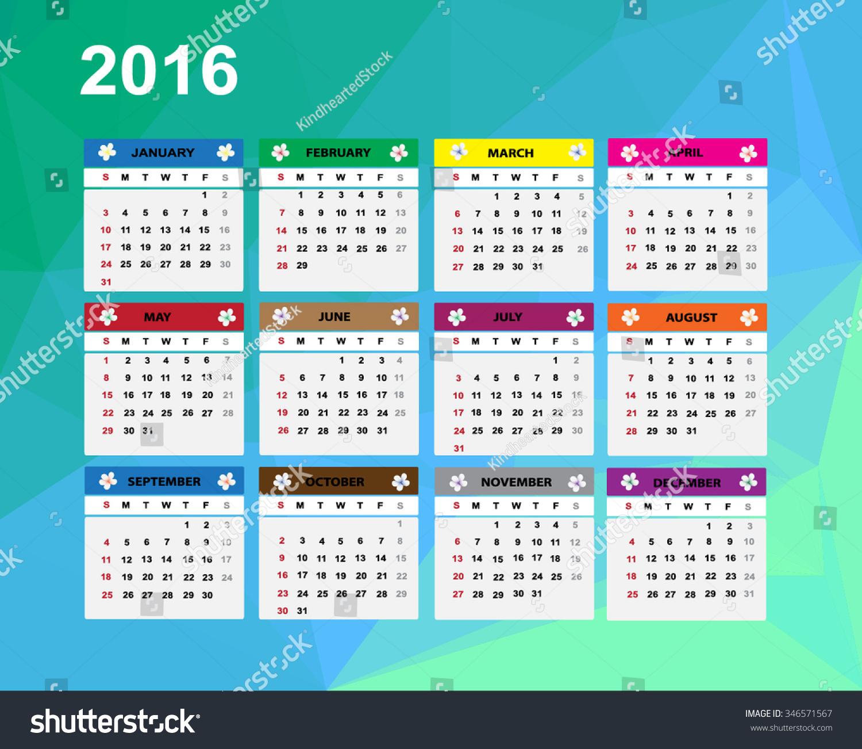 Calendar Illustration : Calendar illustration stock vector
