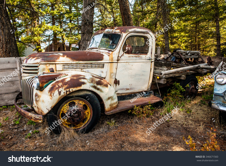 Kalispell Mt August 2 Old Cars Stock Photo 346671560 - Shutterstock