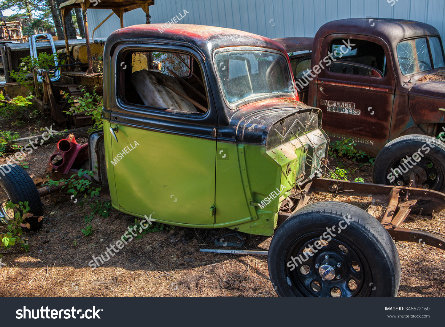 Kalispell MT August 2 Old Cars Stock Photo (Royalty Free) 346672160 ...