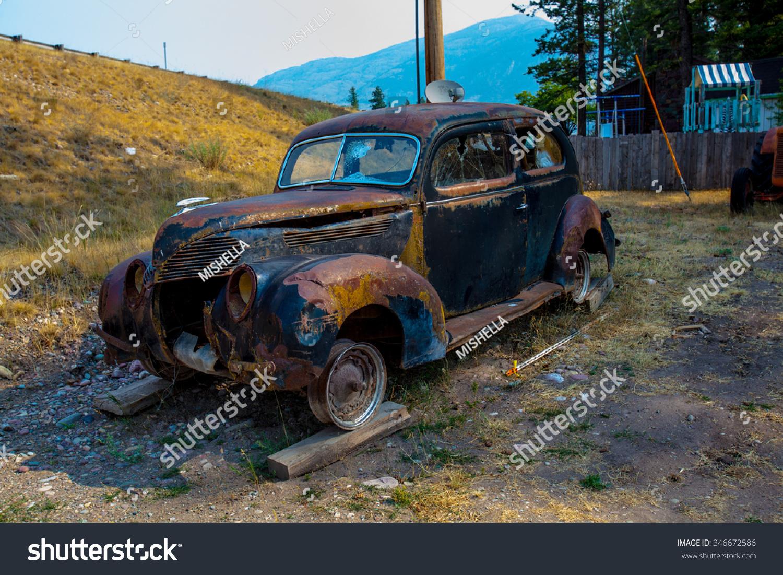 Kalispell Mt August 2 Old Cars Stock Photo 346672586 - Shutterstock