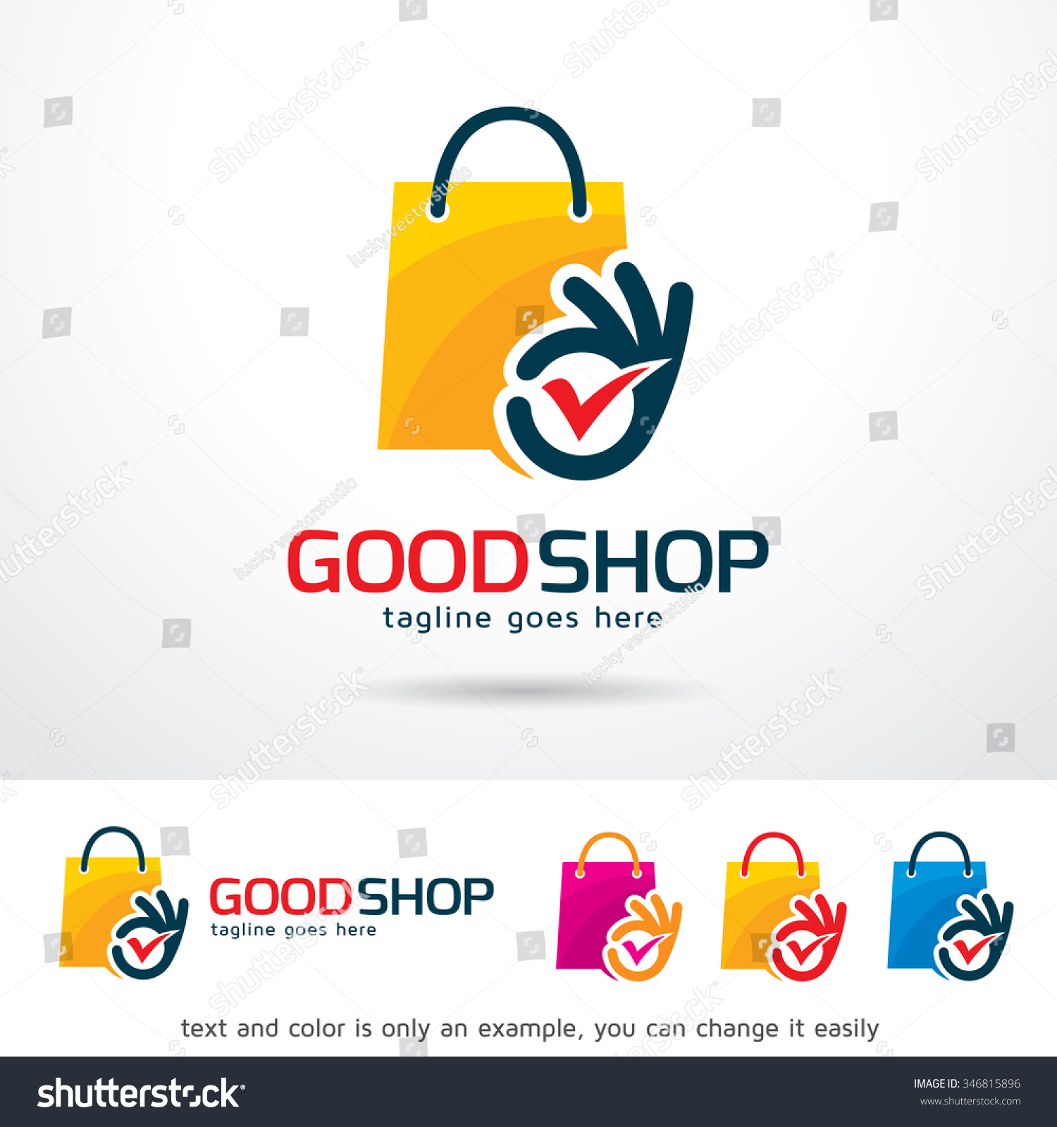 how to make online shop logo