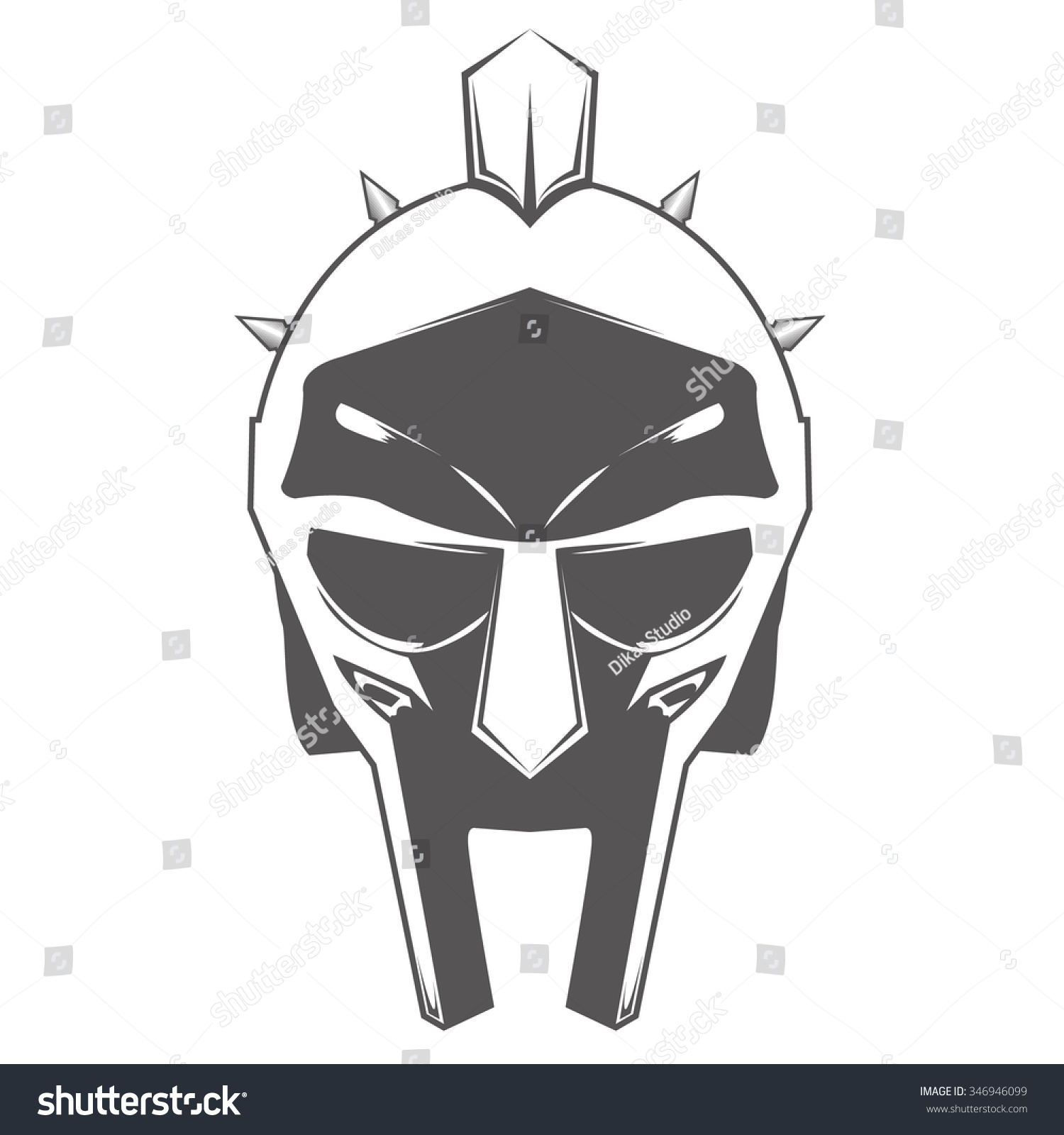 Gladiator Movie Helmet Drawing gladiator stock vectors & vector clip ...