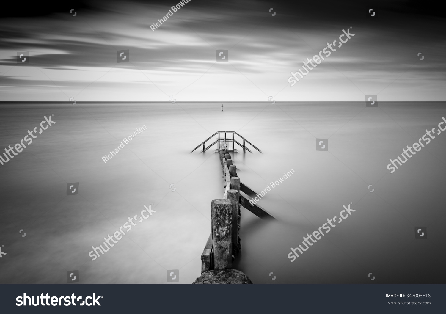 Steps surrounded by sea high tide stock photo 347008616 shutterstock steps surrounded by the sea at high tide biocorpaavc