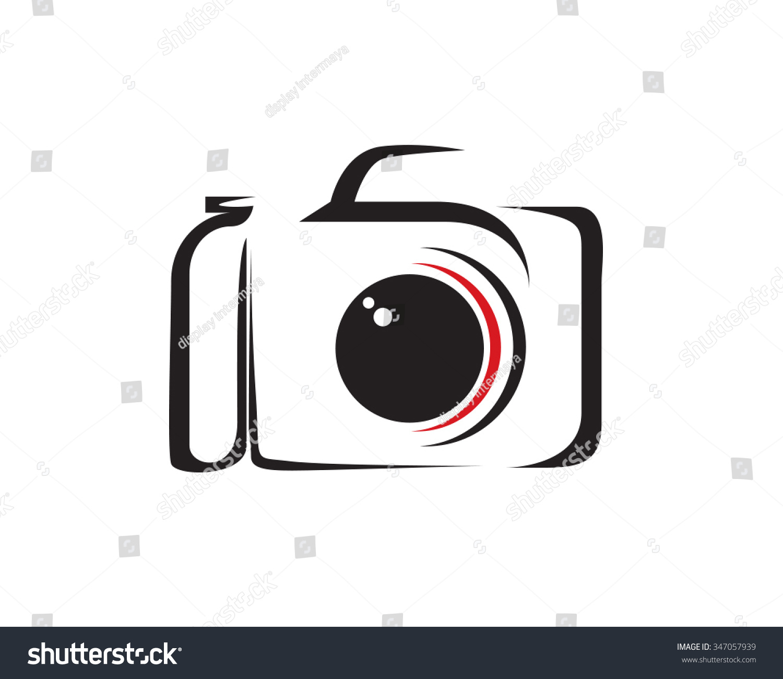 Camera shutter silhouette