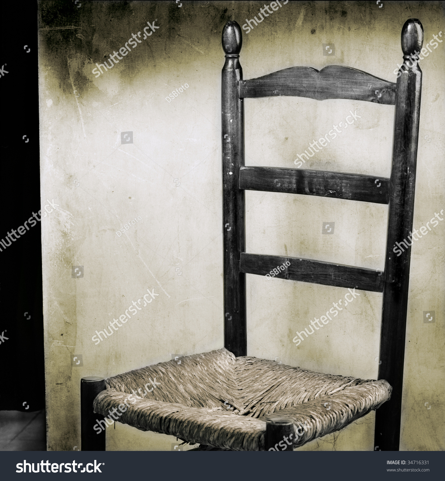 Old Spanish Style Chair Stage Stock Shutterstock
