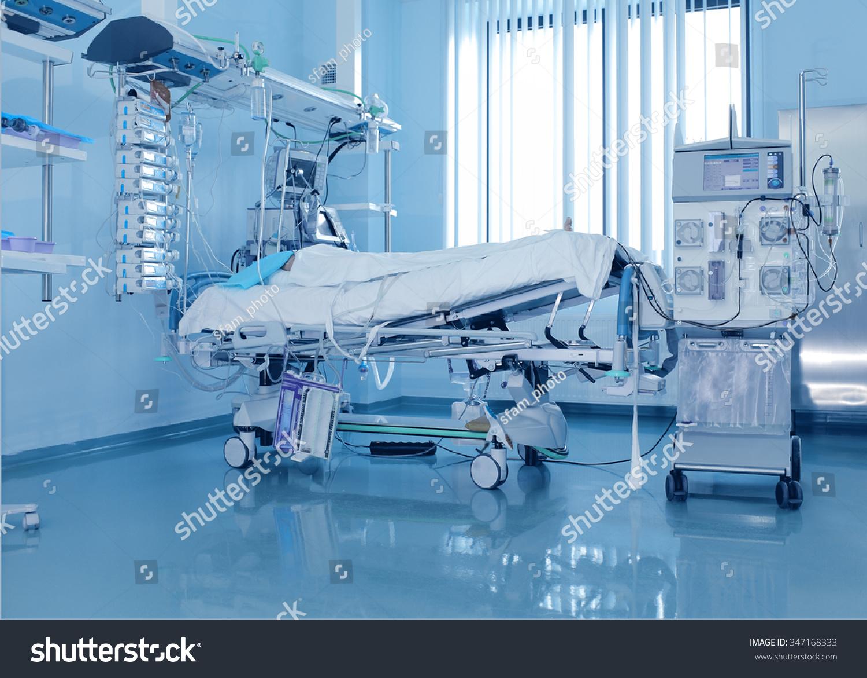 severely ill patients icu dialysis machine stock photo 347168333
