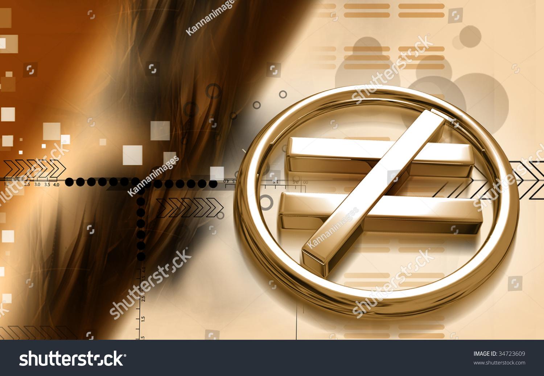 Digital Illustration Not Equal Sign Stock Illustration 34723609