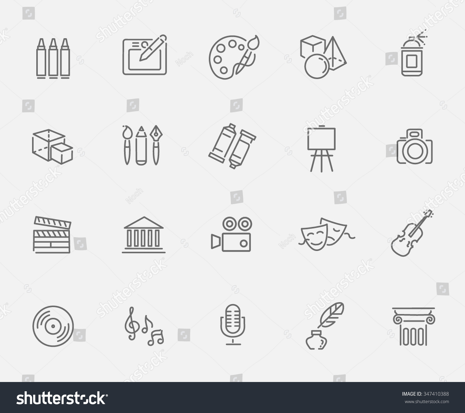 Line Art Icons : Line art icon stock vector shutterstock
