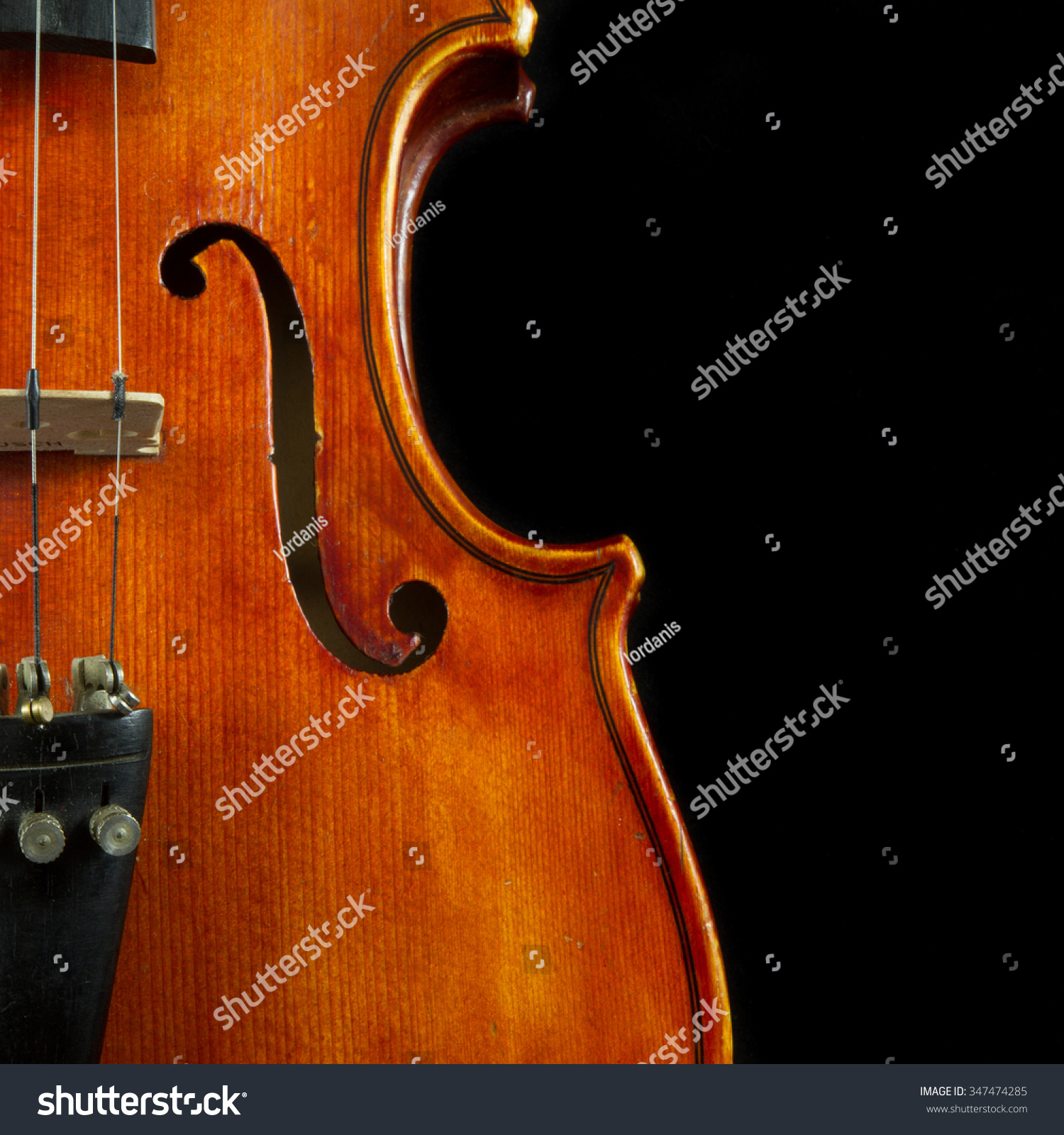Old wood minerale interior of violin - Violin Close Up One Of A Series Of Close Up Shots Of A