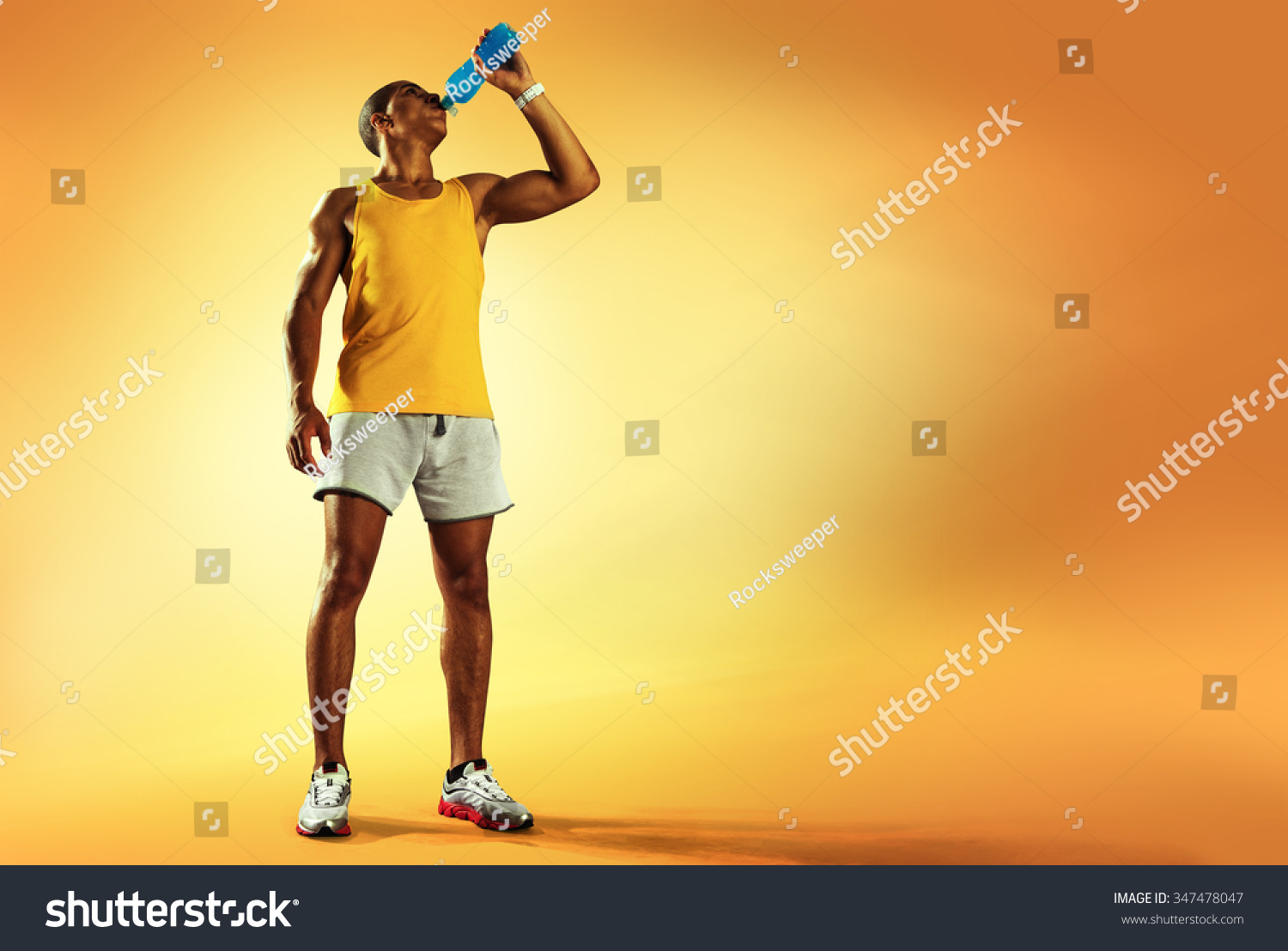 how to drink water after running
