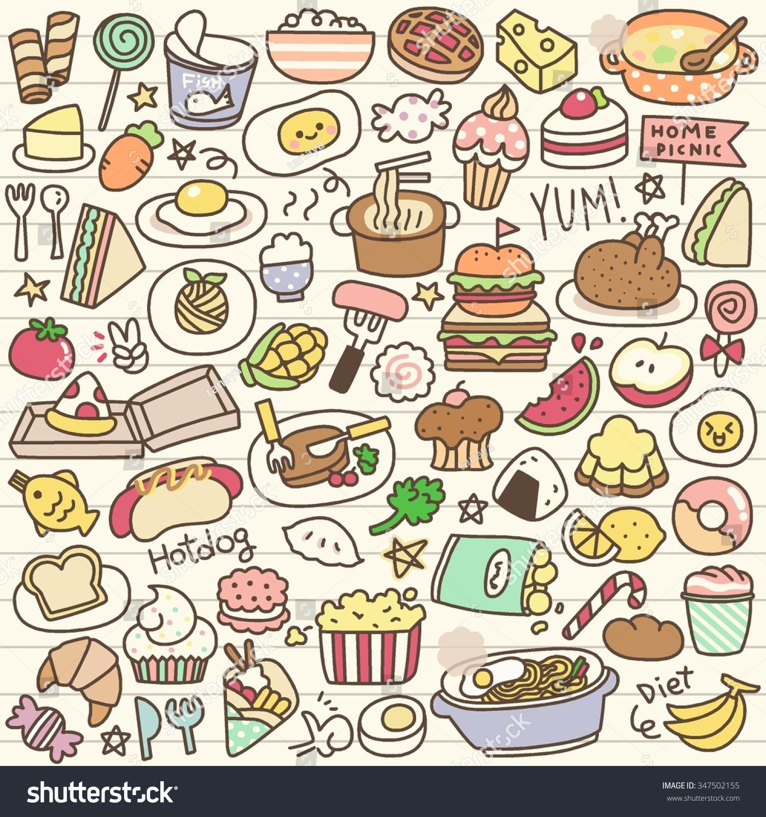 Pics Photos Food Stock Vector 100995040 Shutterstock