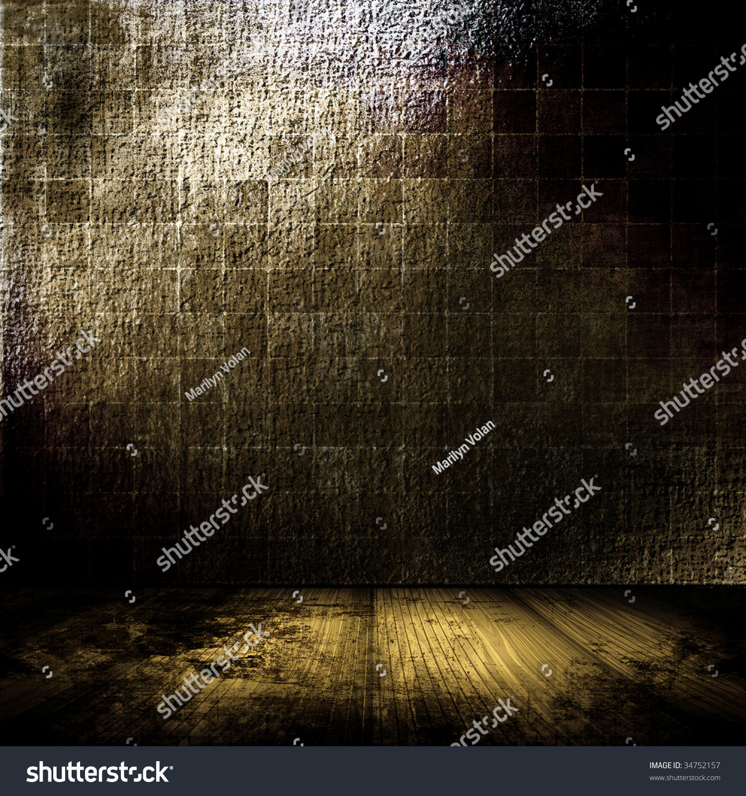Sad Tumblr Quotes About Love: Dark Grunge Room Stock Photo 34752157 : Shutterstock