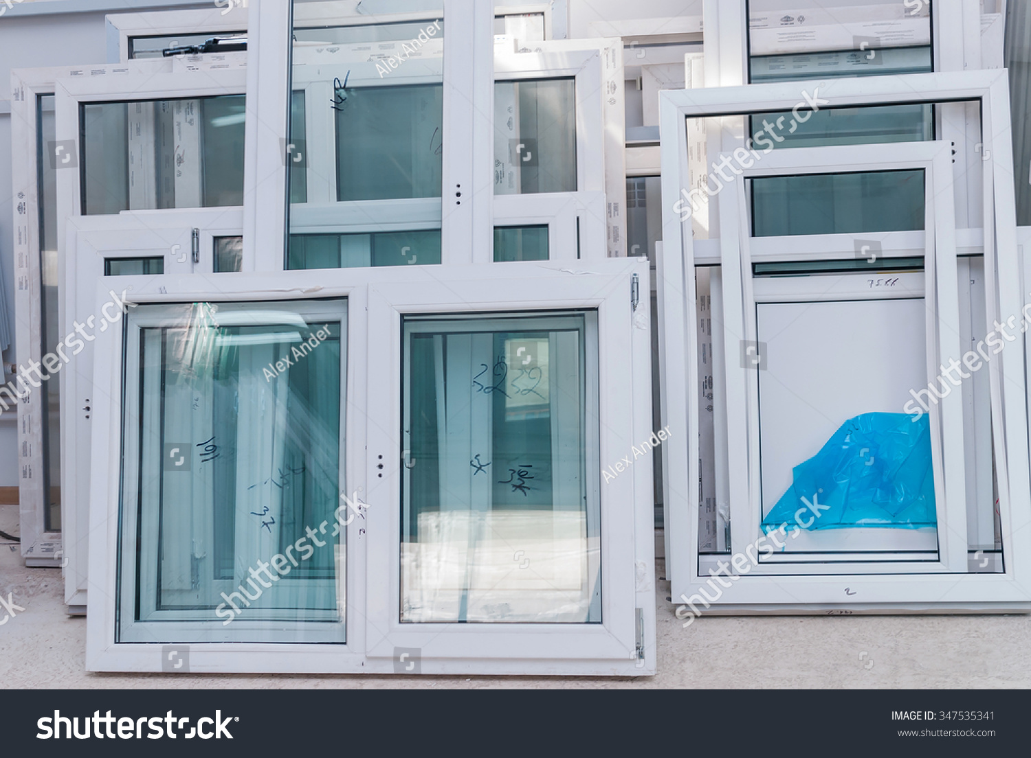 Upvc windows doors manufacturing plastic windows stock for Window factory