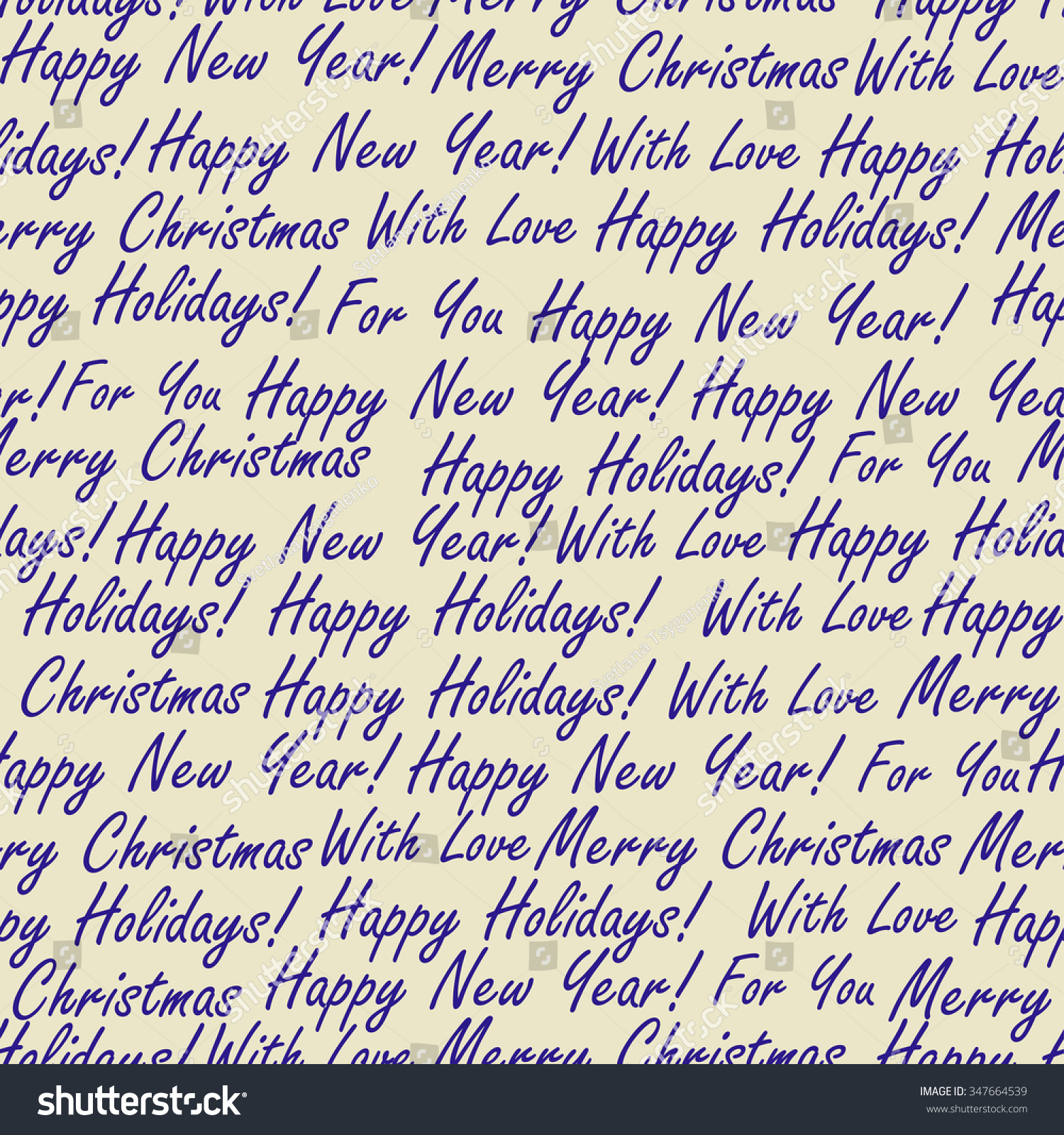 christmas words seamless pattern - Christmas Words That Start With Z