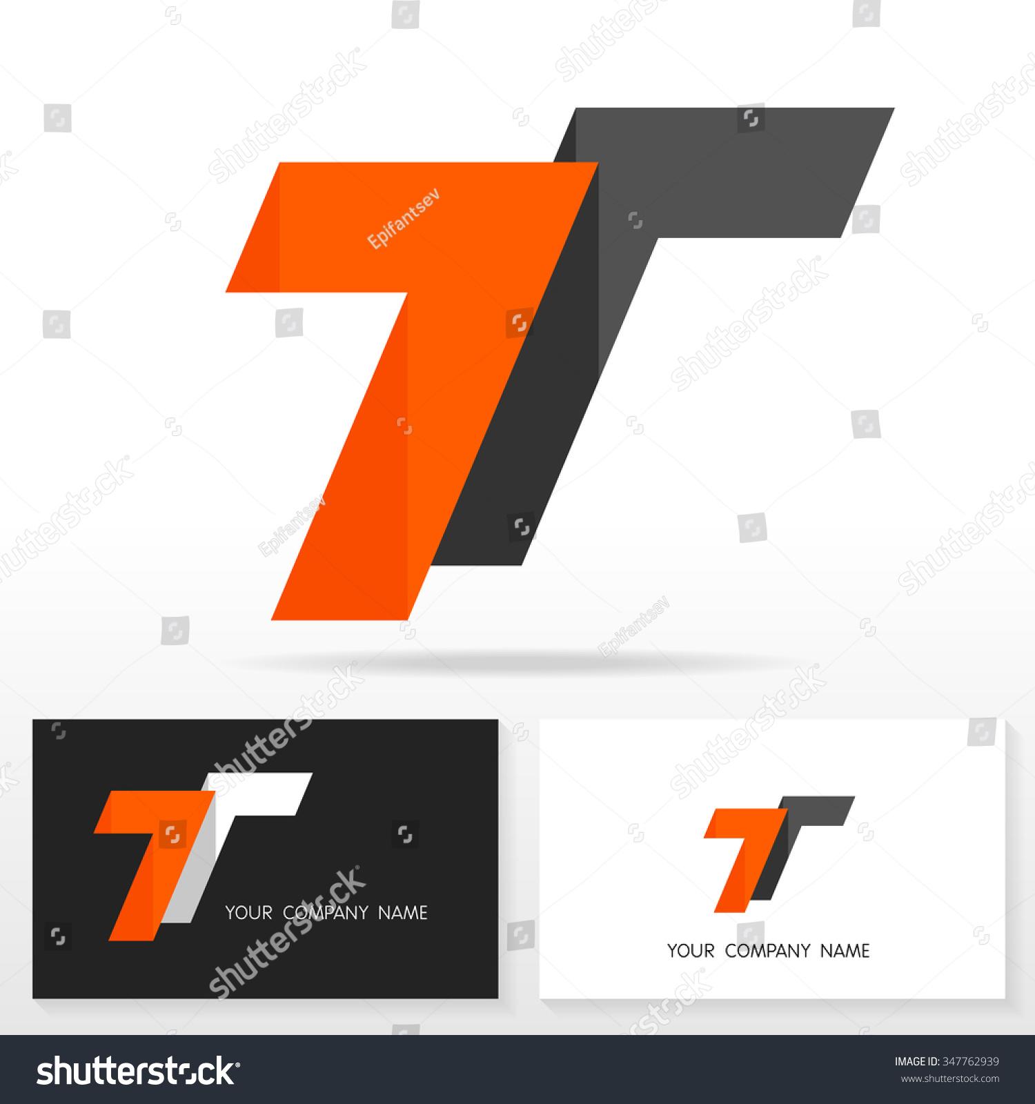 Letter T Logo Design - Vector Sign. Business Card Templates ...