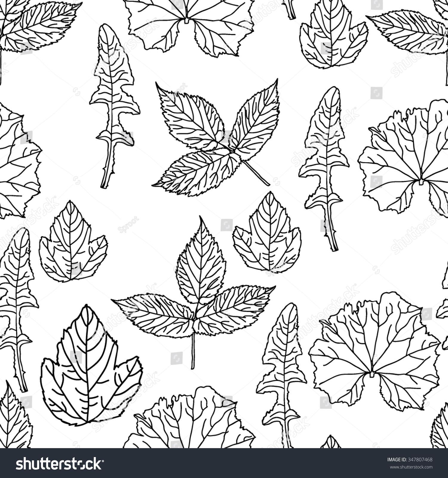 Folk Floral Ornament Seamless Textured Pattern Stock Vector