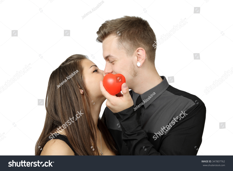 Young Romantic Couple Love Boy Girl Stock Photo 347807762 ...