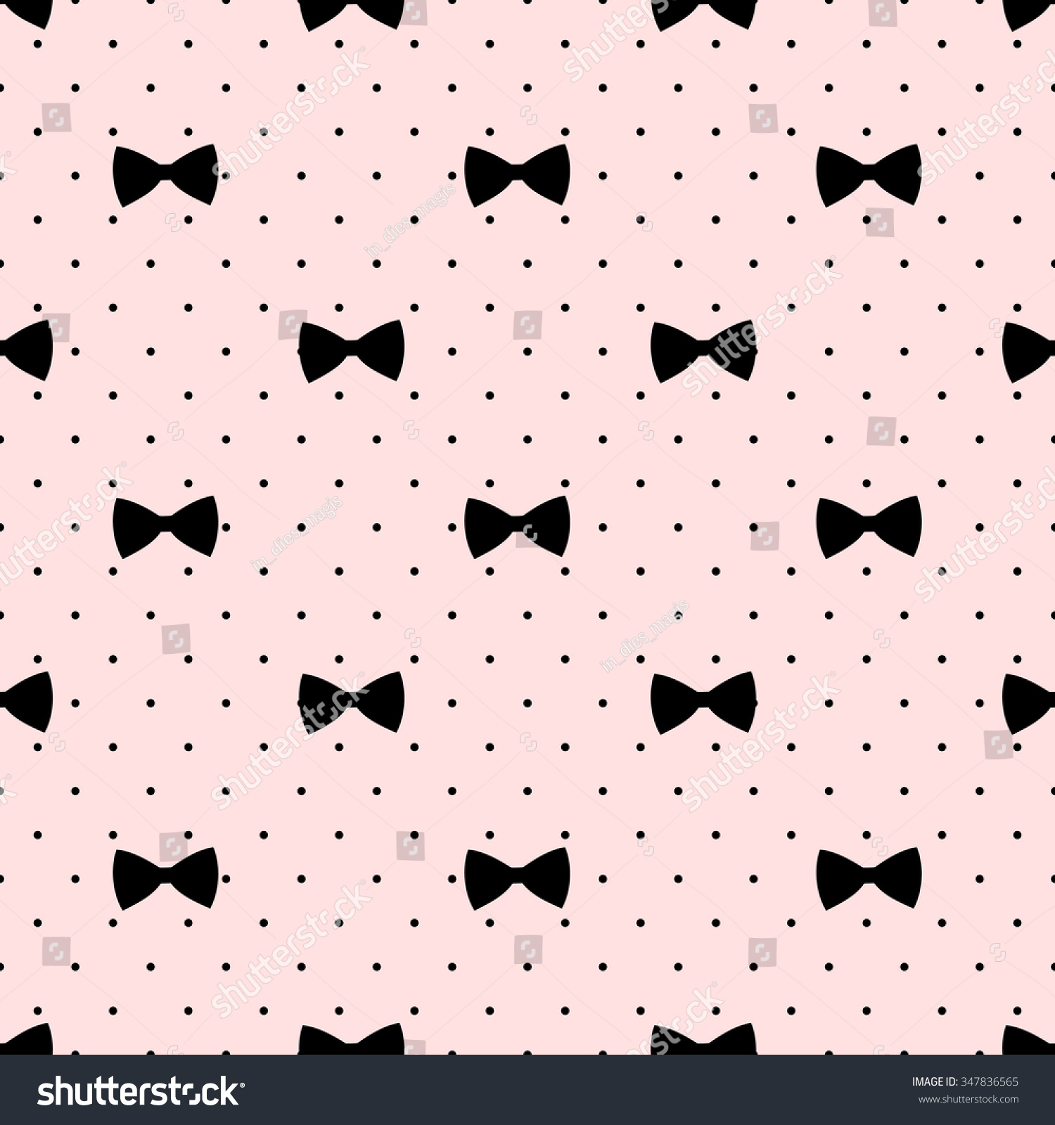 Bow Pattern Cool Design Ideas