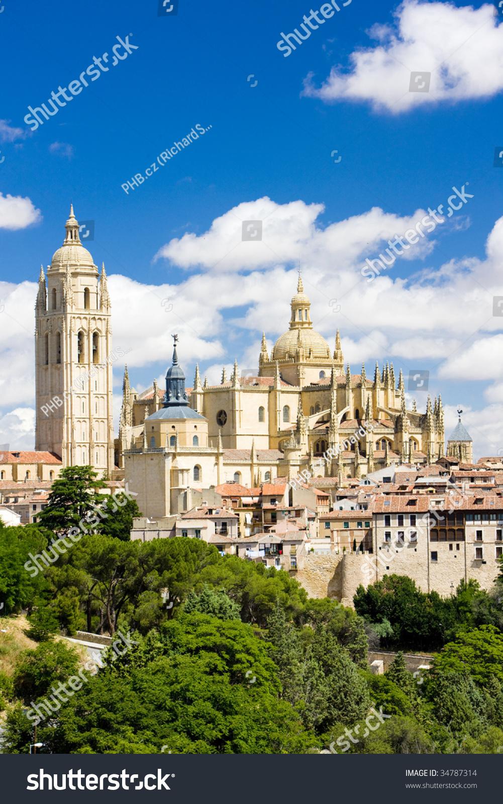 Leon Spain  city photo : Segovia, Castile And Leon, Spain Stock Photo 34787314 : Shutterstock