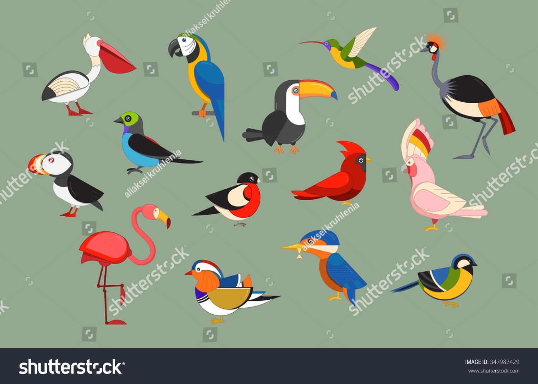 Cartoon Nene Bird