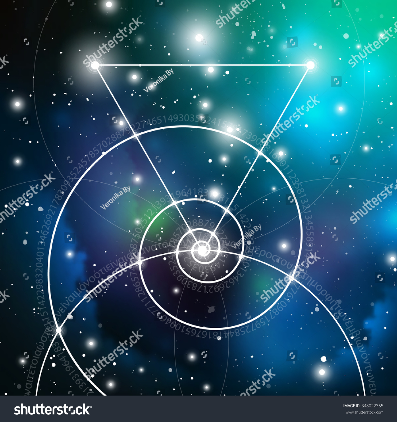 Mathematical symbols digits space formula nature stock vector mathematical symbols and digits in space the formula of nature greek letters there biocorpaavc Gallery