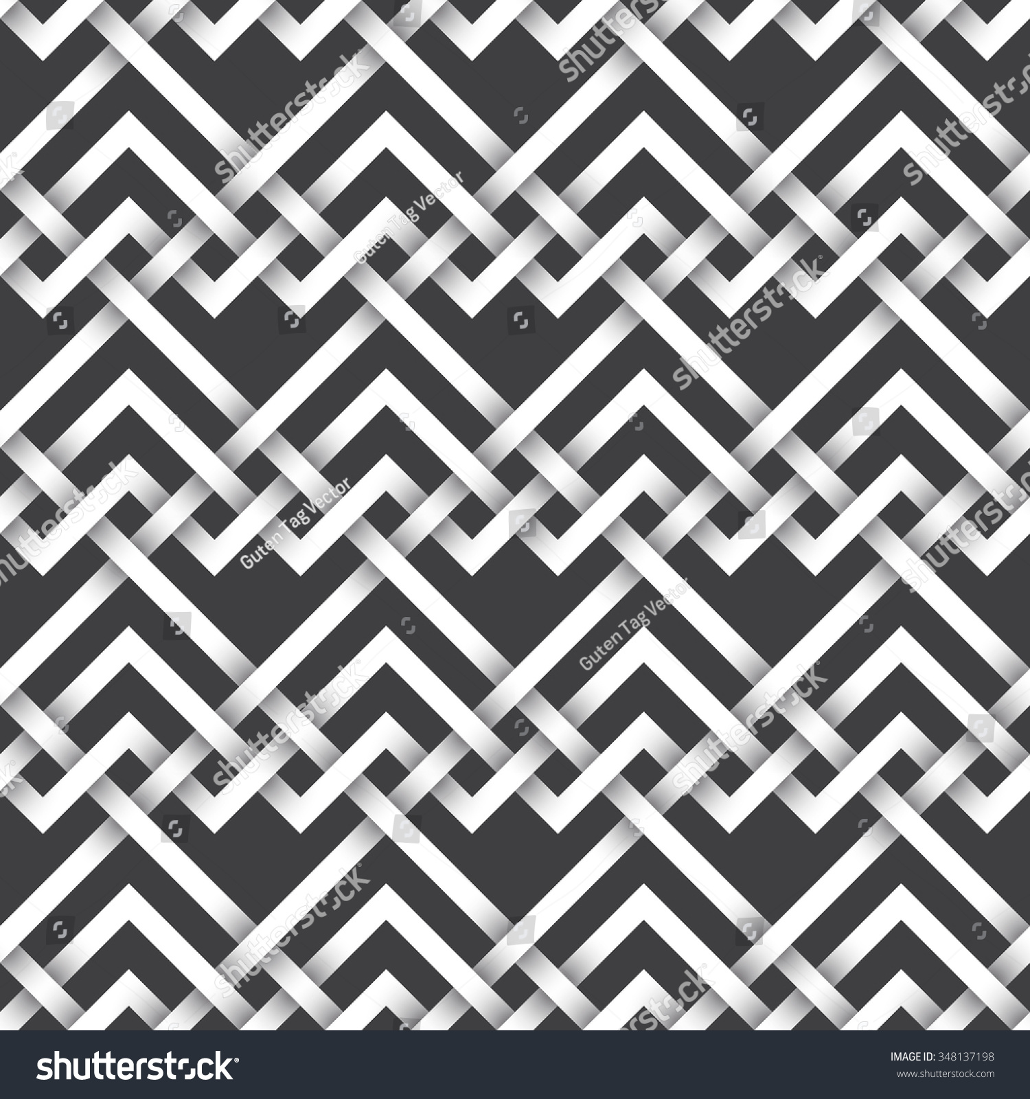 Abstract repeatable pattern background white twisted stock for A decoration that is twisted intertwined or curled