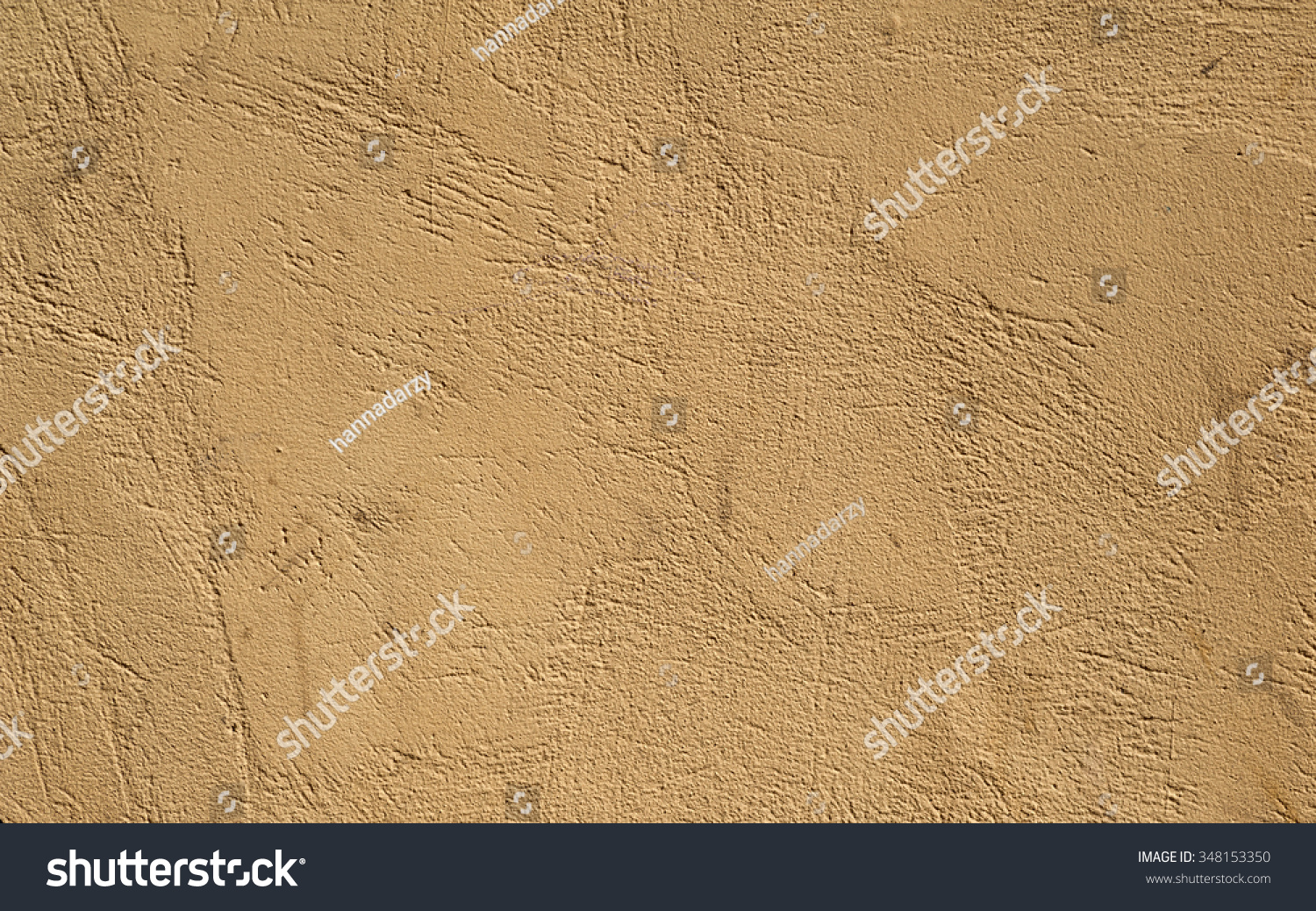 Texture Old Rustic Wall Covered Yellow Stock Photo