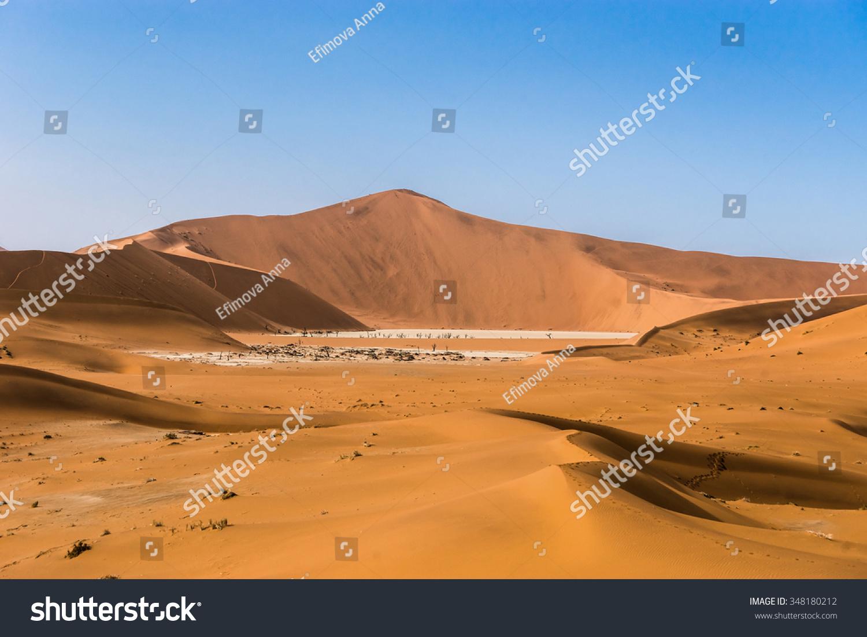 Namib Desert Deadvlei Big Daddy Dune Stock Photo Edit Now