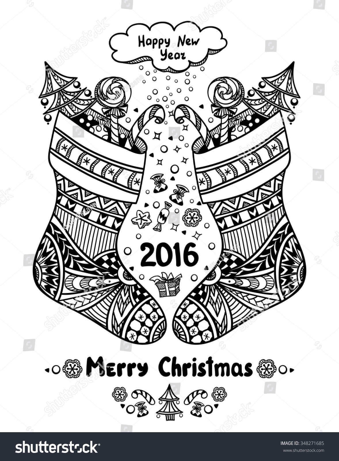 Gift Coloring Page Box Colouring
