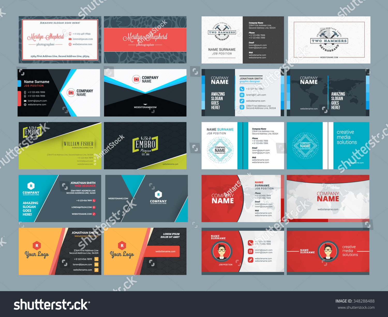 Video Editor Business Card Design