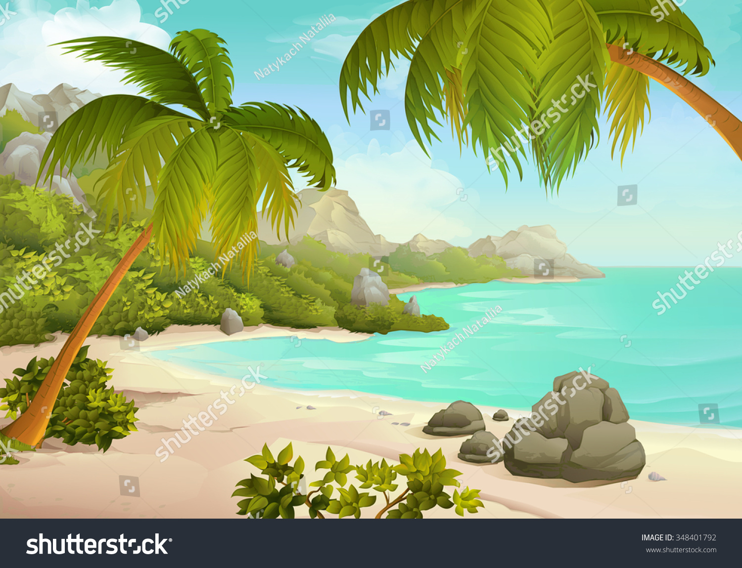 20 tropical backgrounds - photo #45