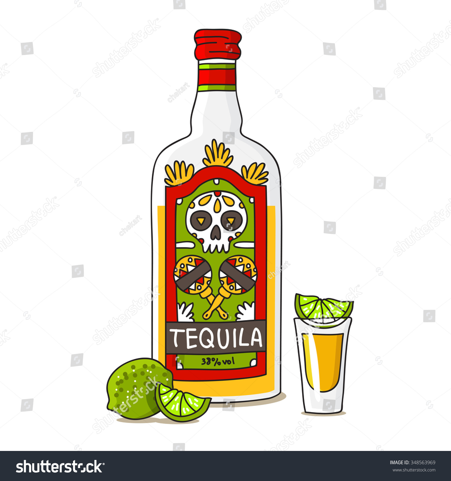 Tequila Dibujo Png