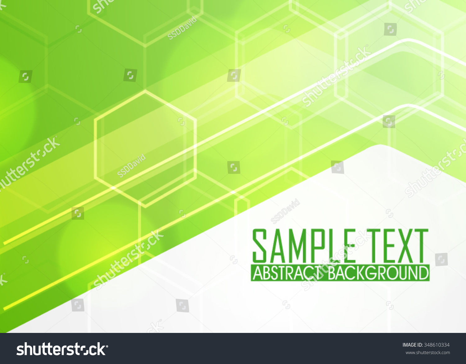 Green Abstract Background Illustration Template Business Stock ...