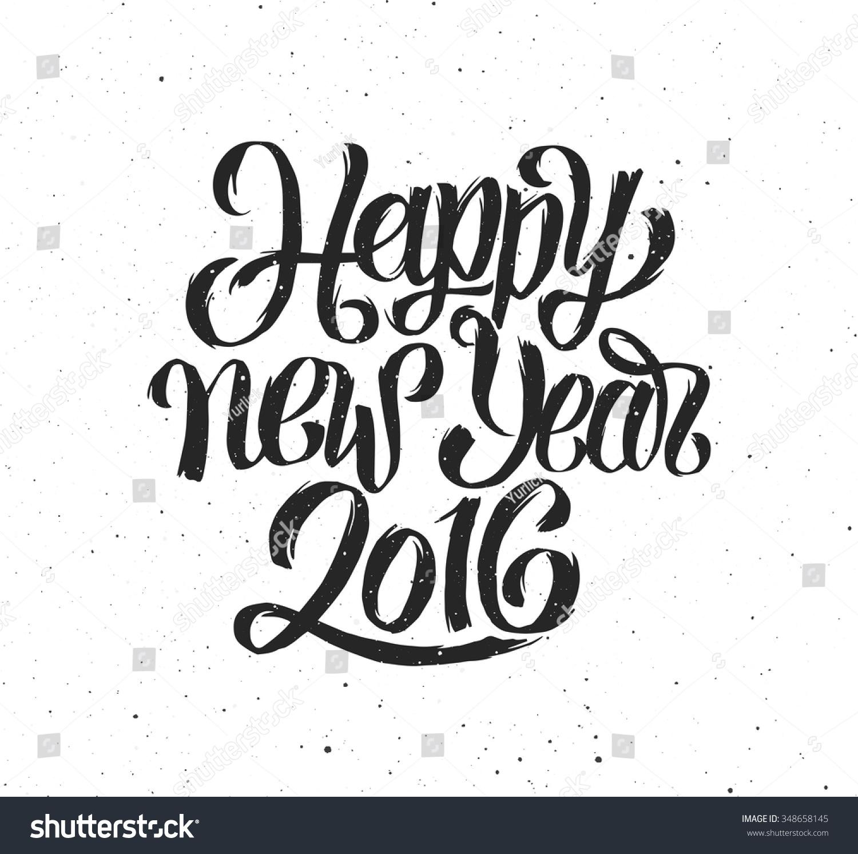 Happy new year handmade greeting card design chinese