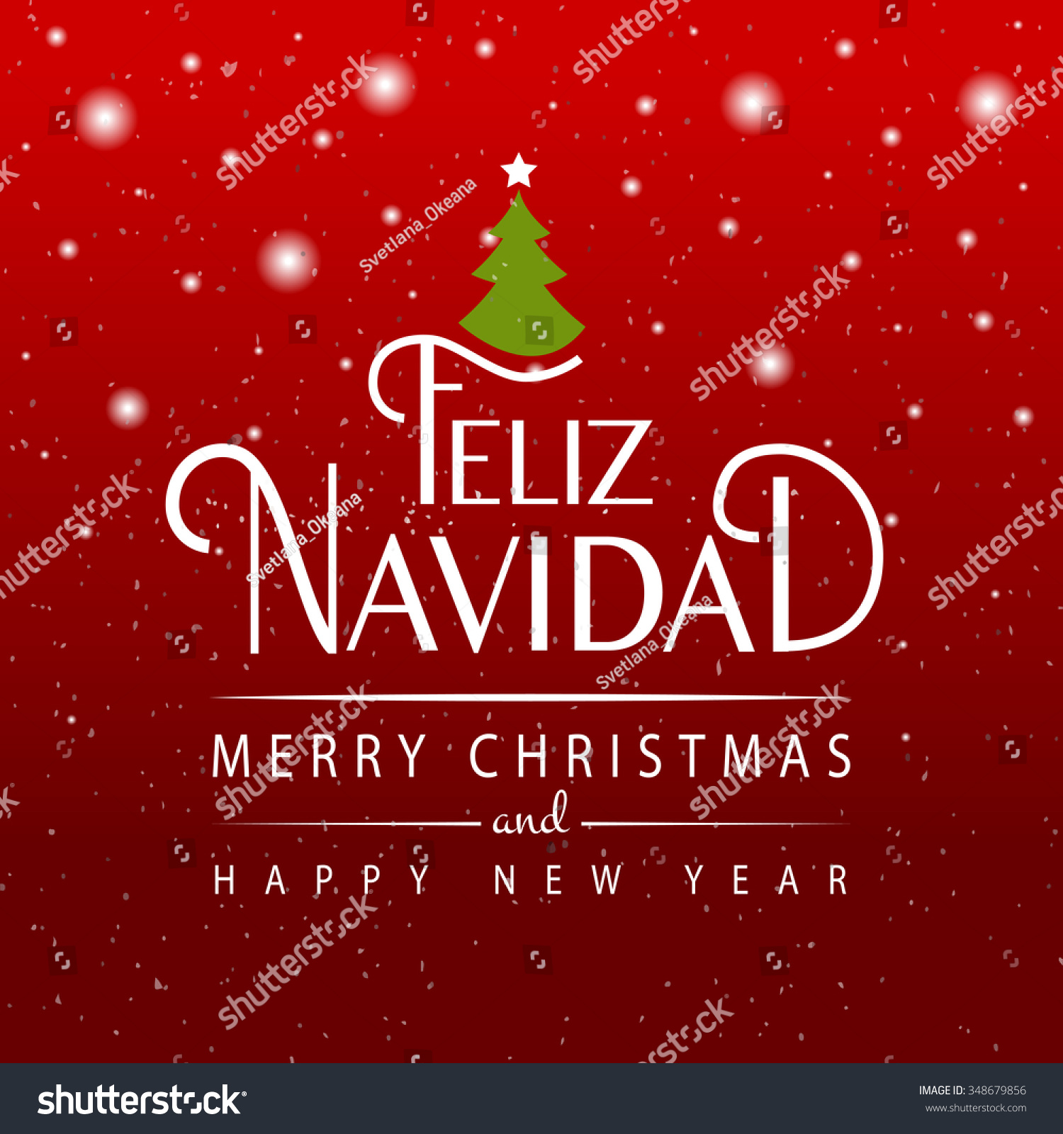 Hand sketched feliz navidad merry christmas stock vector 348679856 hand sketched feliz navidad merry christmas in spanish for happy holidays greeting card kristyandbryce Images