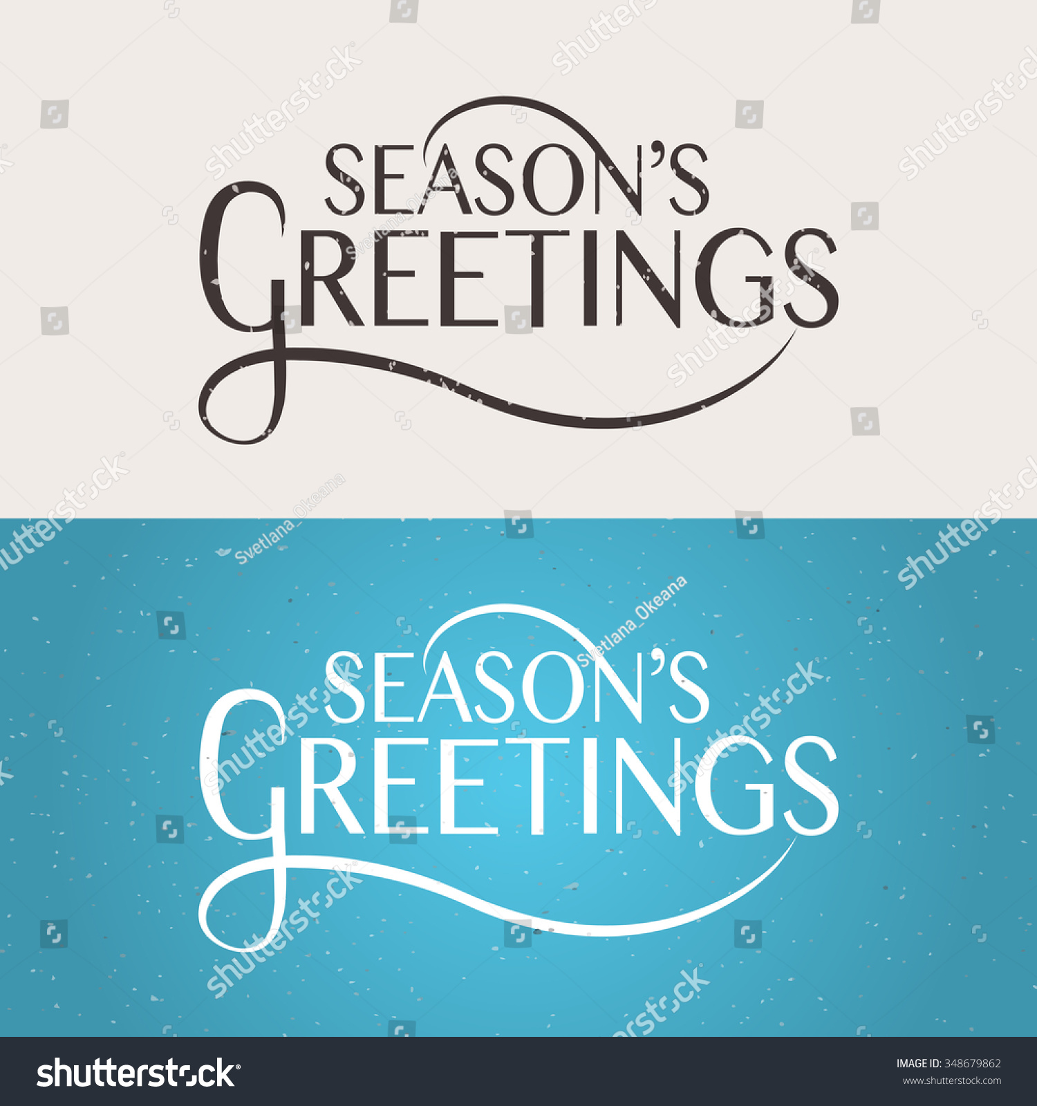 Hand sketched seasons greetings logotype badge stock vector hand sketched seasons greetings logotype badge and icon typography hand drawn lettering typography for kristyandbryce Choice Image