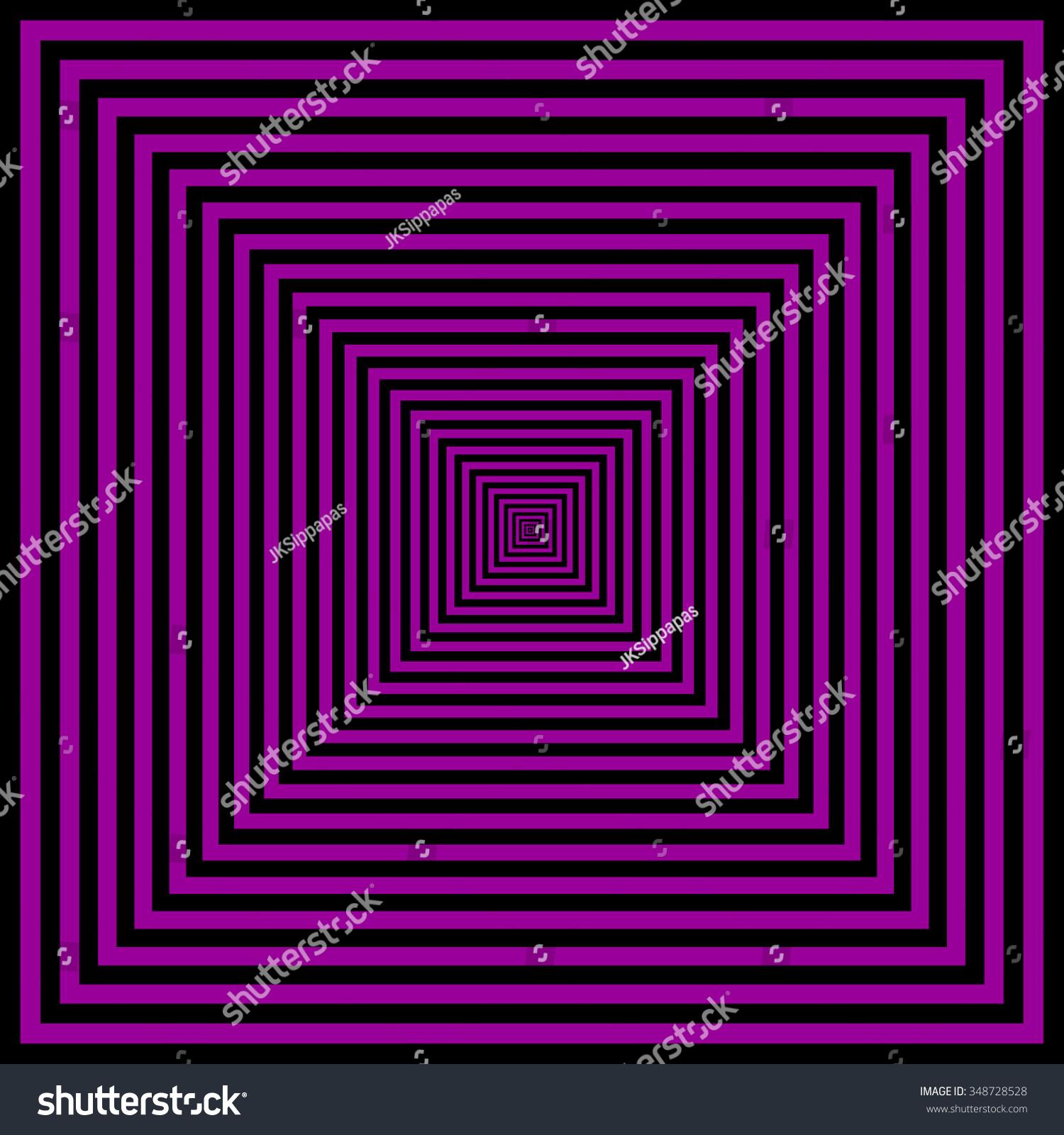 black purple color pattern square shape stock illustration 348728528