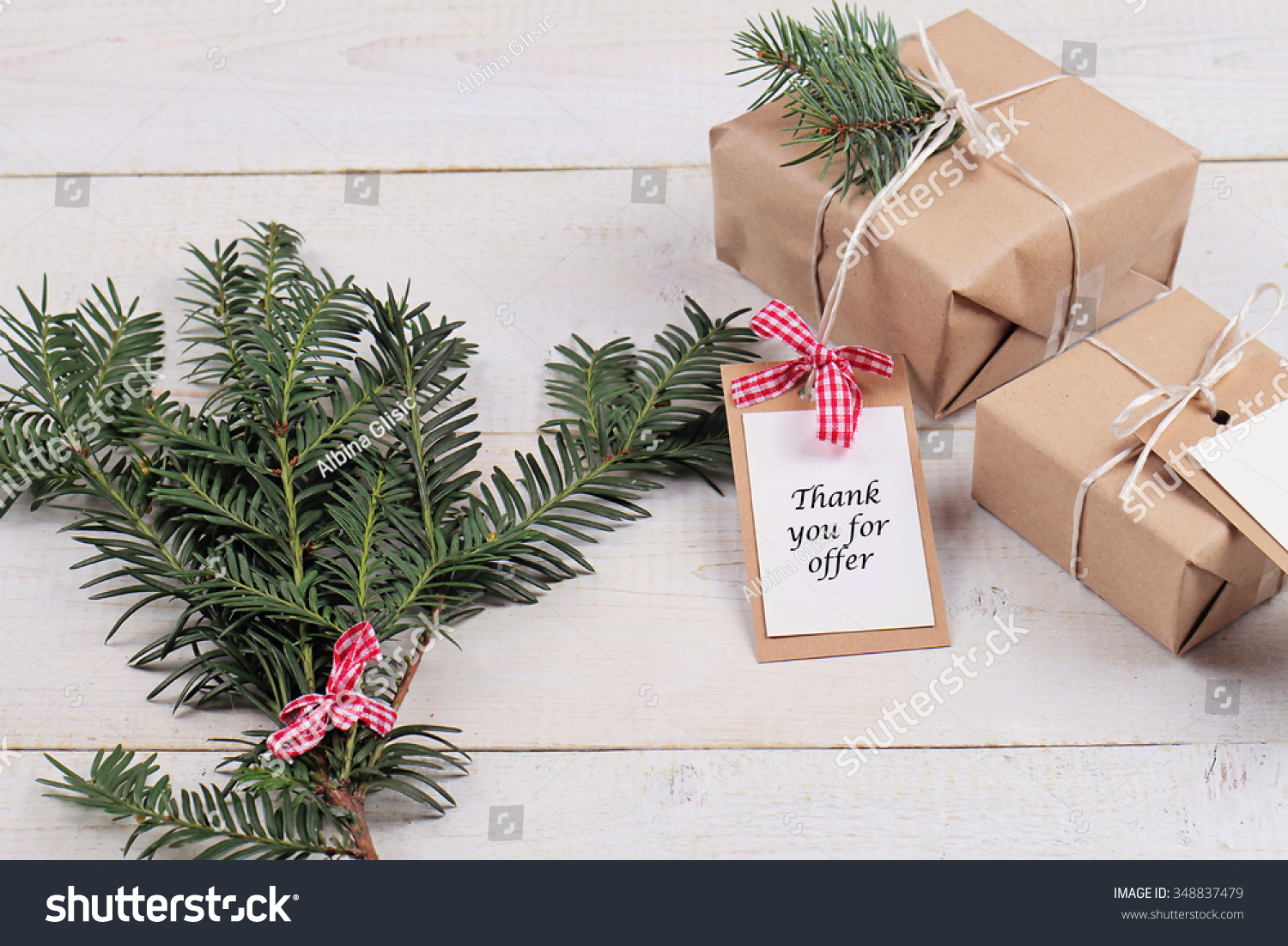 Business Marketing Ideas Christmas Client Gifts Stock Photo (Edit ...
