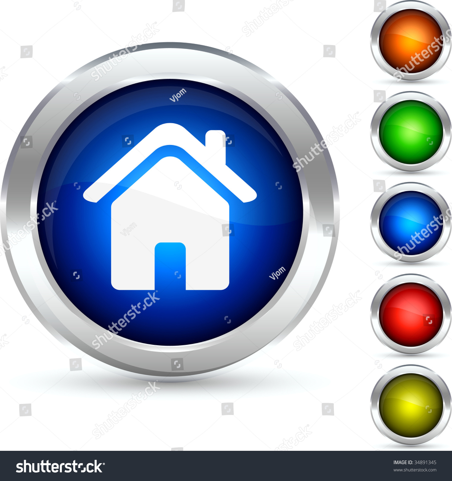 Home detailed button vector illustration 34891345 for Detailed home search