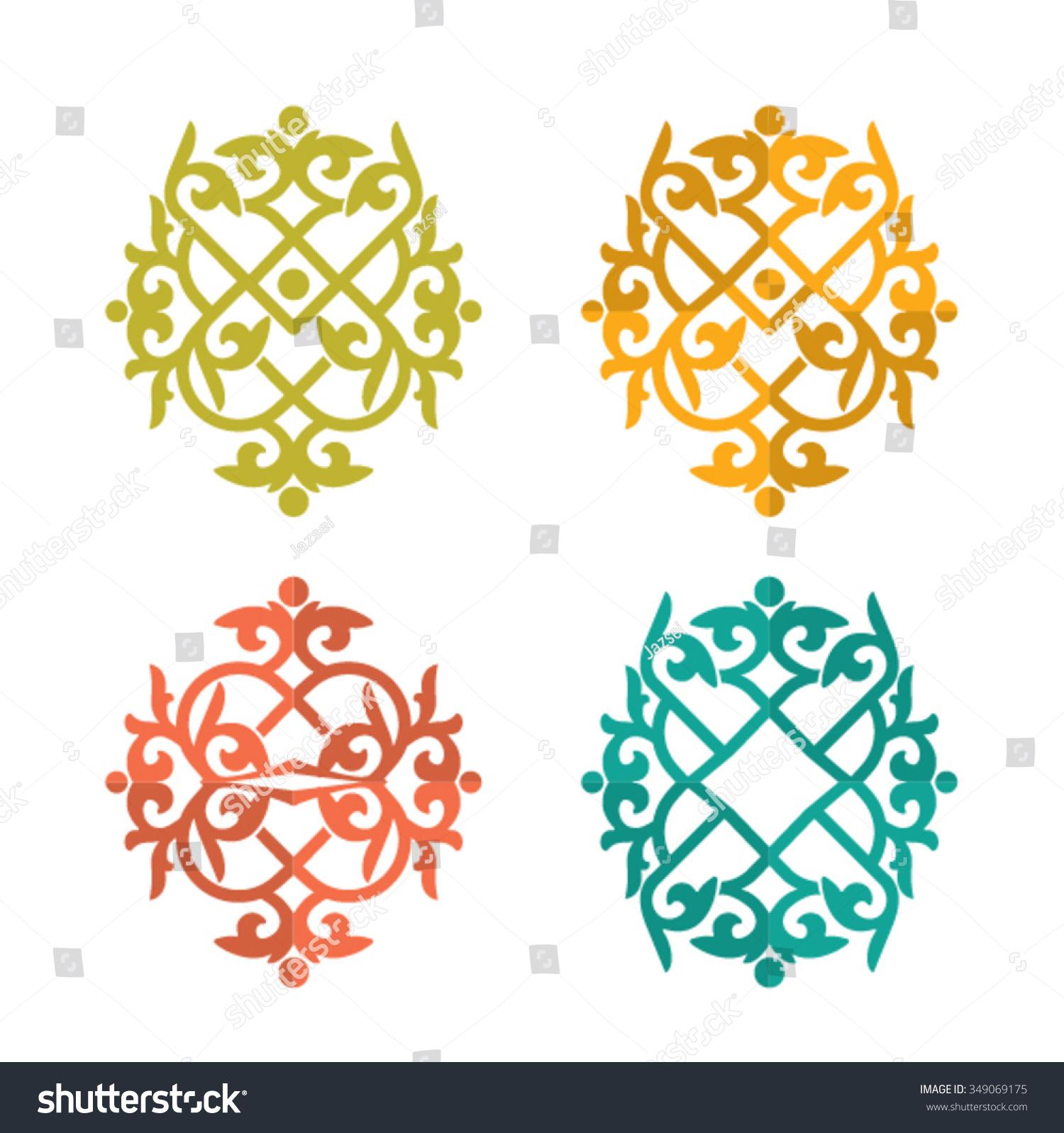Вышивка казахский орнамент 94
