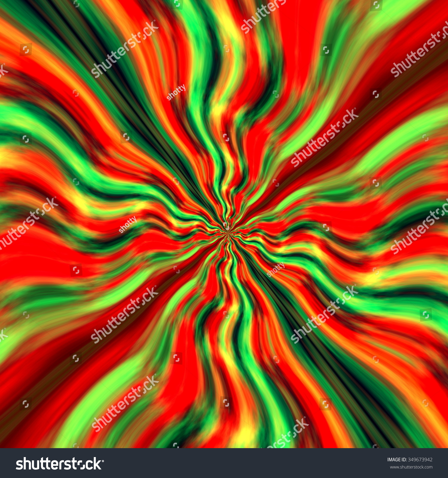 Colorful Weird Shapes. Abstract Background. Red Orange Blue Green ...