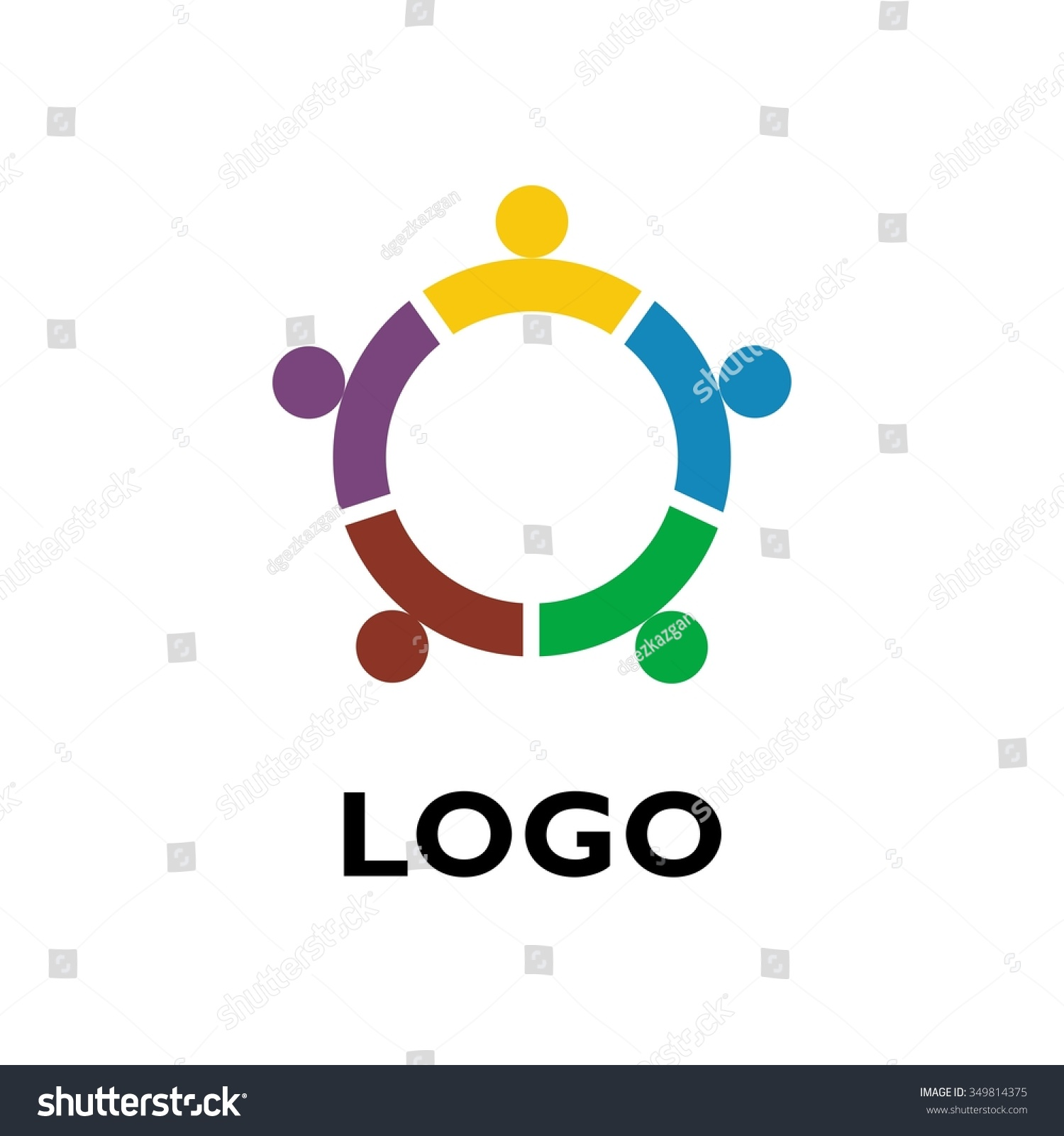 Vector friendship icon business team social stock vector 349814375 vector of friendship icon business team social network icon for the company abstract buycottarizona Choice Image