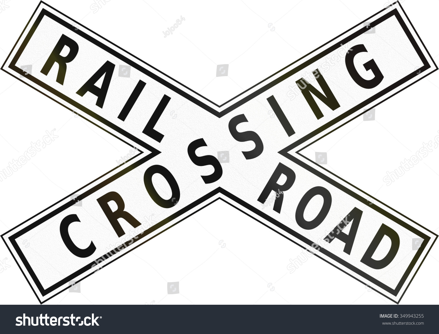 Road sign philippines railroad crossbuck stock illustration road sign in the philippines railroad crossbuck buycottarizona Image collections